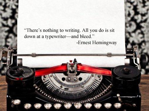 typewriter quote 507x380